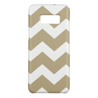 Tan  Chevron Case-Mate Samsung Galaxy S8 Case
