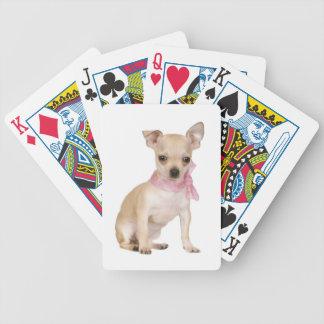 Tan Chihuahua Dog Playing Cards