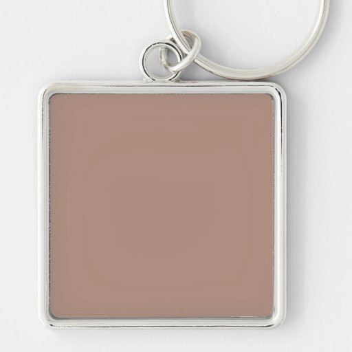 Tan Color Only Custom Design Nothing But Color Key Chains
