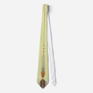 Tan Deco Tie