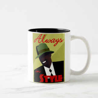 "Tan ""FEDORA"" Coffee Mug"