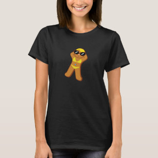 """Tan Gingerbread Girl"" T-Shirt"