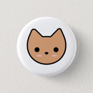Tan Kitten Button