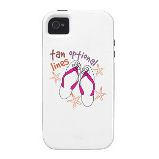 Tan Lines Optional Case-Mate iPhone 4 Covers