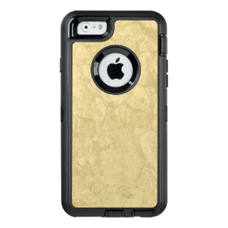 Tan Marble OtterBox Defender iPhone Case