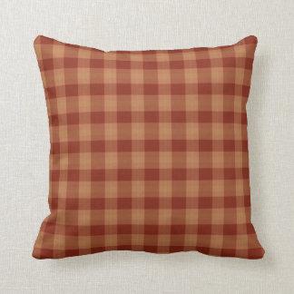 Tan Tartan  Pillow