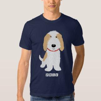 Tan & White PBGV Dog Tee Shirt