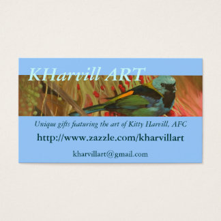 Tanager Fine Art Business Cards