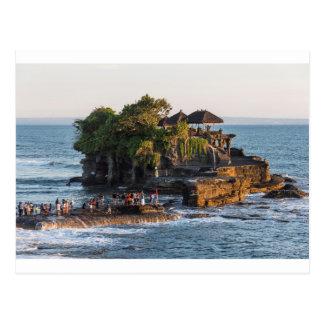 Tanah-Lot Bali Indonesia Postcard