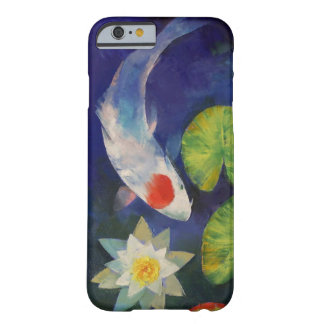 Tancho Koi and Water Lily Barely There iPhone 6 Case