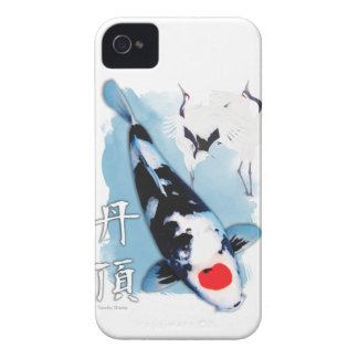 Tancho koi iPhone 4 cover