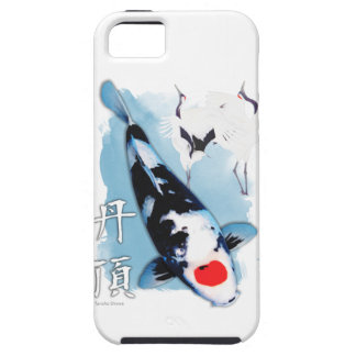 Tancho koi iPhone 5 covers