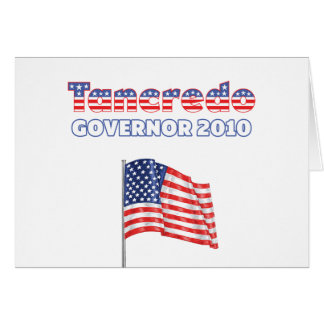 Tancredo Patriotic American Flag 2010 Elections Greeting Cards