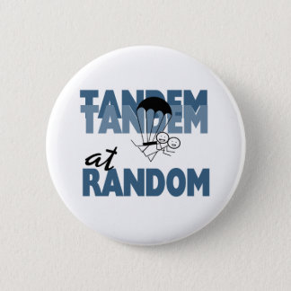 Tandem at Random 6 Cm Round Badge