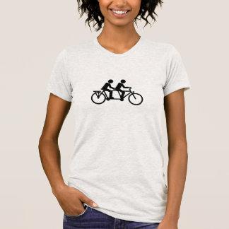 Tandem Bicycle bike Tshirt