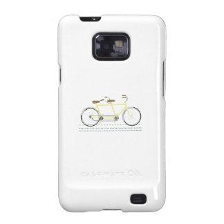 Tandem Bicycle Galaxy SII Case