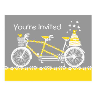 Tandem Bicycle Custom Doran Postcards