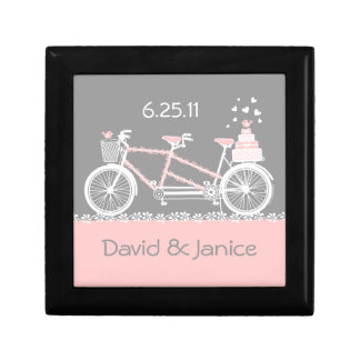 Tandem Bicycle Wedding Gift Box