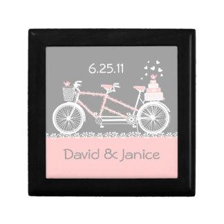 Tandem Bicycle Wedding Gift Box