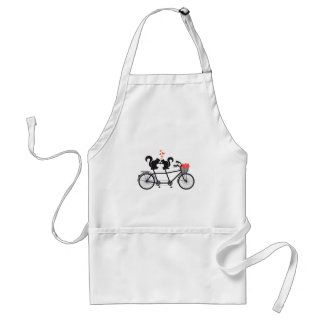 tandem bicycle with squirrels standard apron