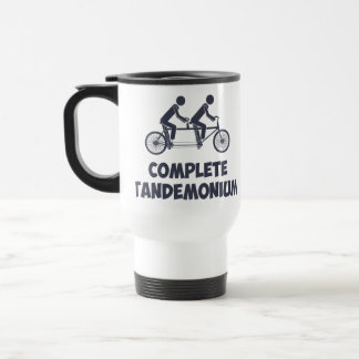 Tandem Bike Complete Tandemonium Stainless Steel Travel Mug