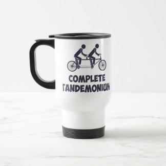Tandem Bike Complete Tandemonium Travel Mug