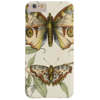 Tandem Butterflies Over Green Leaves Barely There iPhone 6 Plus Case