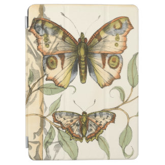 Tandem Butterflies Over Green Leaves iPad Air Cover