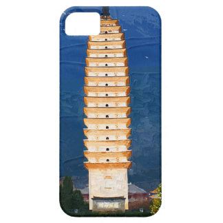 Tang Dynasty Tower in Yunnan, Dali iPhone 5 Covers
