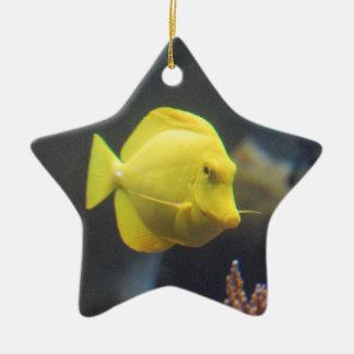 Tang Fish Christmas Ornament