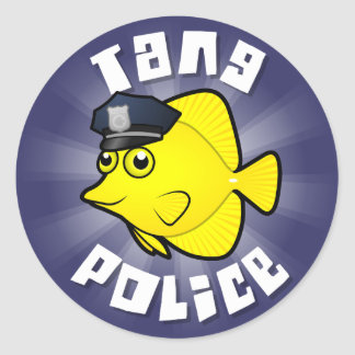 Tang Police Sticker