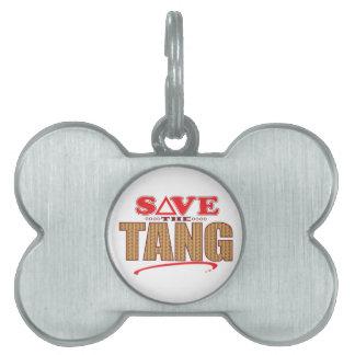 Tang Save Pet ID Tag