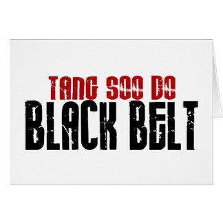 Tang Soo Do Black Belt Karate Card
