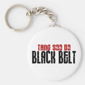Tang Soo Do Black Belt Karate Key Chain