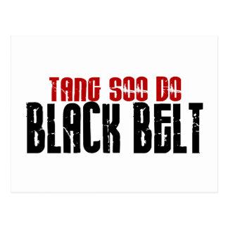 Tang Soo Do Black Belt Karate Post Card