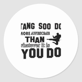 tang soo do MARTIAL arts gifts Sticker