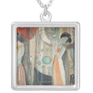 Tang Women Silver Plated Necklace