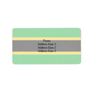 Tanganyika, Tajikistan Address Label