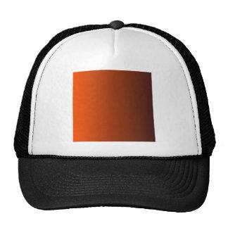 Tangelo to Seal Brown Vertical Gradient Hats