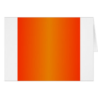 Tangerine and Scarlet Gradient Card