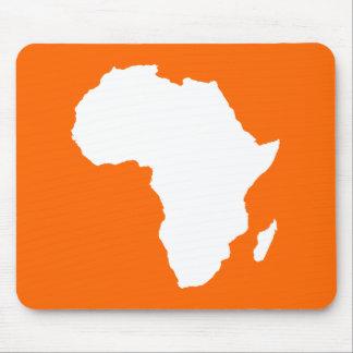 Tangerine Audacious Africa Mouse Pad