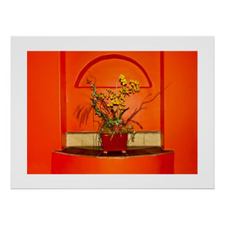 Tangerine Corner Poster