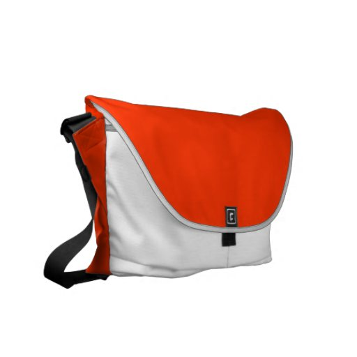 Tangerine Dream Leisure Tote Courier Bags
