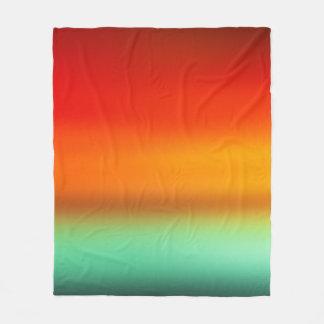 Tangerine Dream Modern Art Blanket