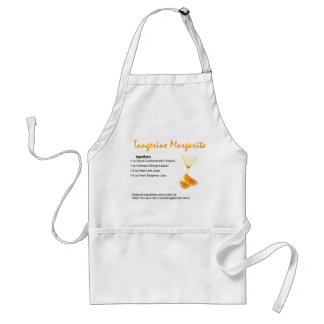Tangerine Margarita Standard Apron