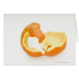 Tangerine peel card