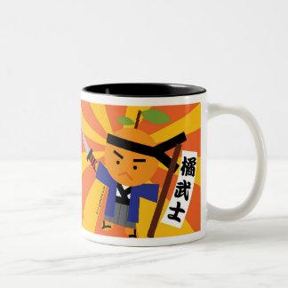 Tangerine Samurai Mug