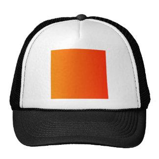 Tangerine to Scarlet Vertical Gradient Hats