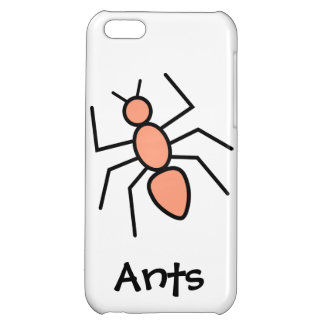 Tangerine Vector Ant Cover For iPhone 5C