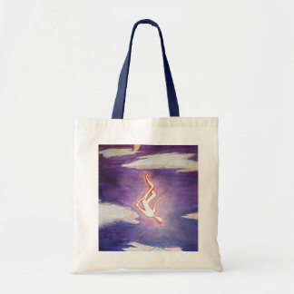 tangibly angelic tote bag